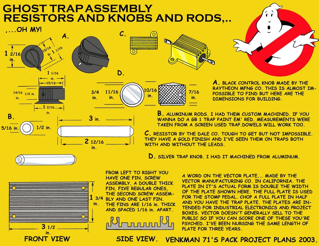 Ghostbuster Ghost Trap Plans My Blog About May2018