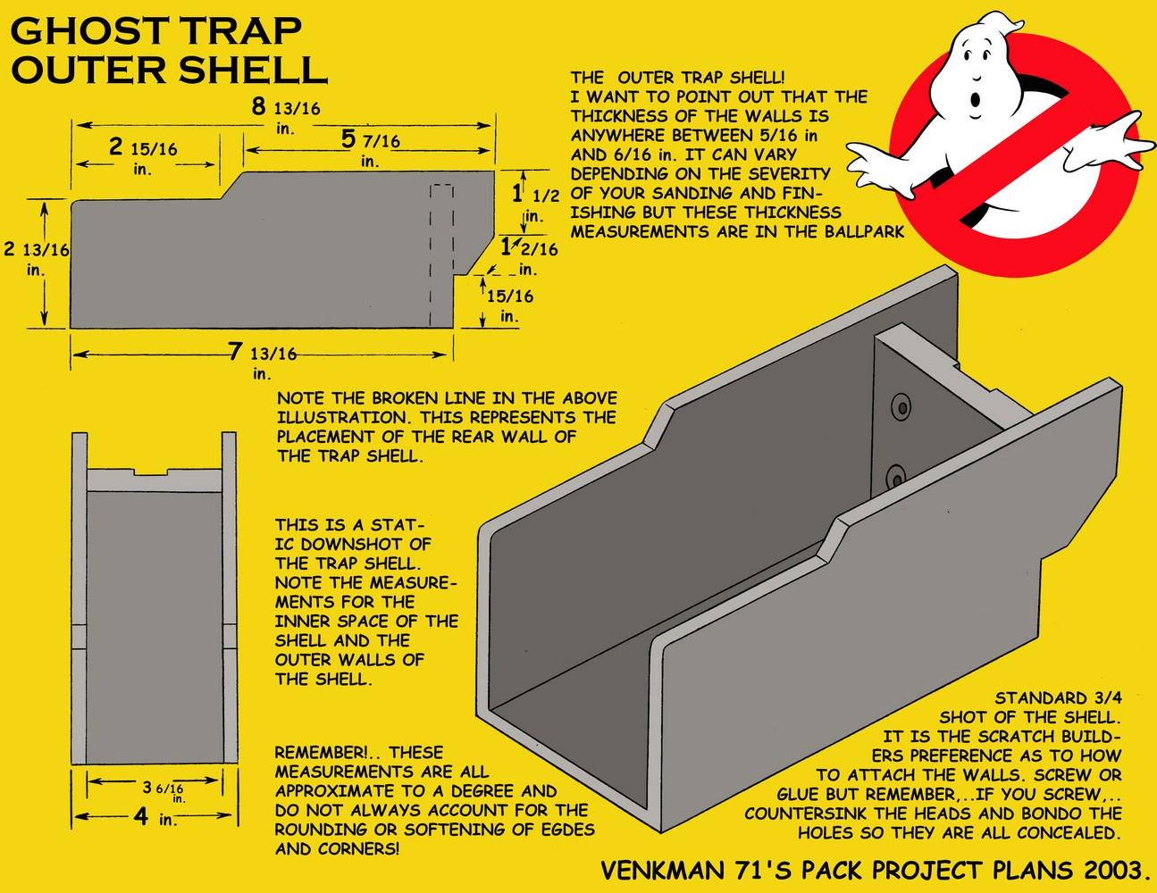 Mmm Trap Kit Build Question Ghostbusters Fans