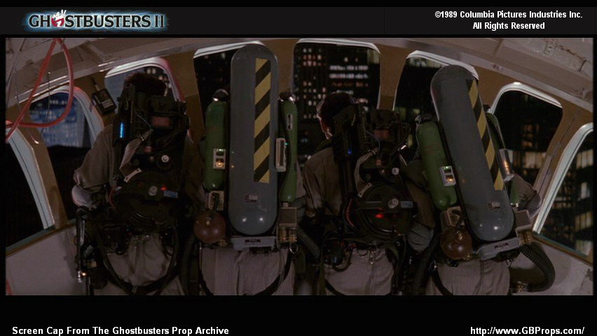 Proton Pack Screen Grabs Reference Equipment
