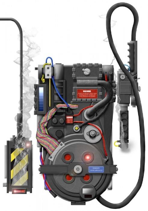 Joeghostbuster S Ghostbusters Equipment Fan Art