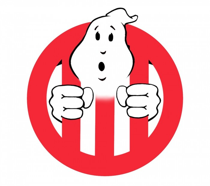 how to draw the ghostbusters logo