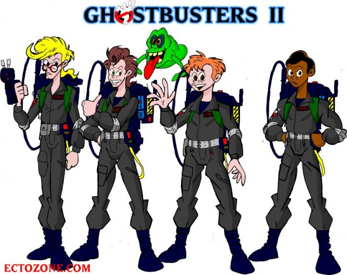 Fritz's Ghostbusters 2 Outfits