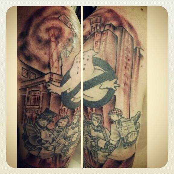 Mrwykess Trap Tattoo  Fan Art Ghostbusters Fans