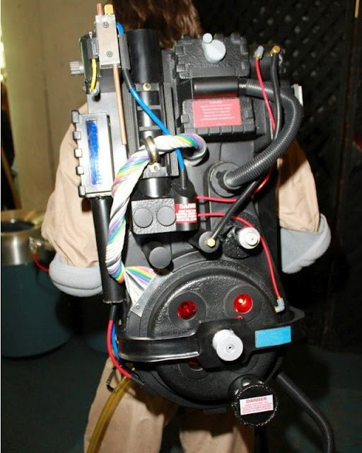 Gekx S Proton Pack Proton Packs Fan Props Ghostbusters Fans