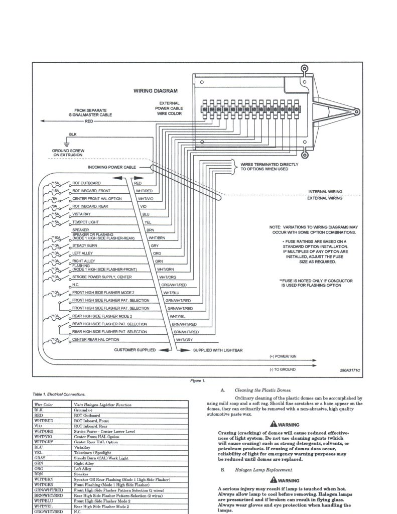 light bar wiring diagram whelen 295hfs4 corner light wiring diagram whelen edge liberty