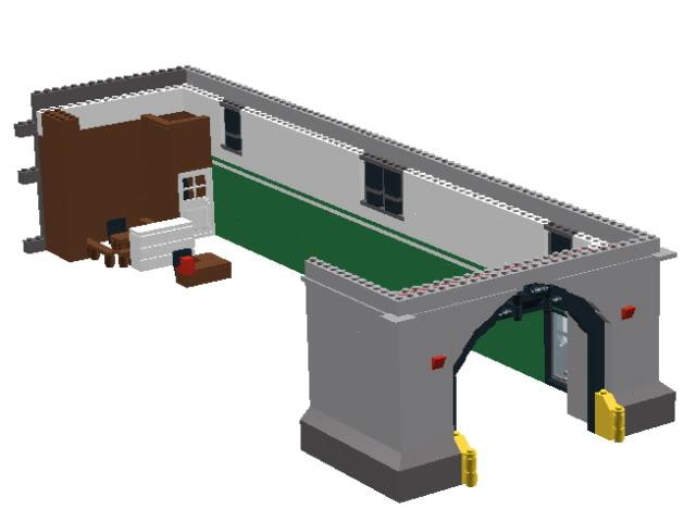 Wip Lego Firehouse Ghostbusters Fans