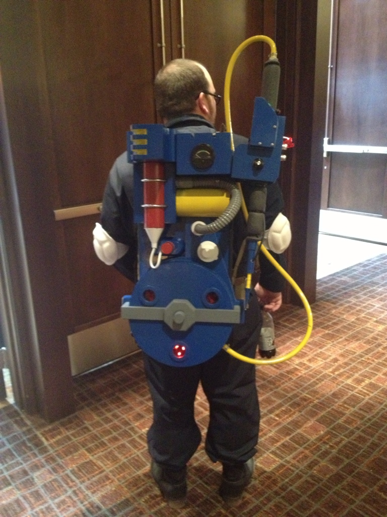 Image : real ghostbuster costume  - Germanpascual.Com