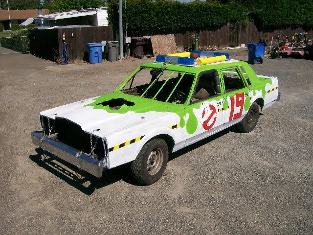 demo derby car paint ideas