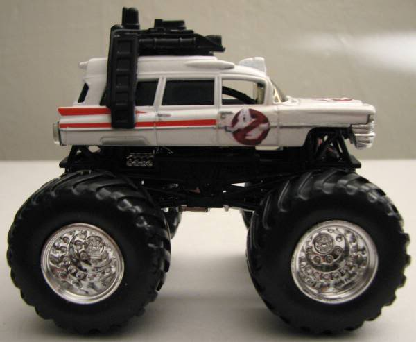 (also Check Out The Wheel Swap On My Ecto 1, I Took The Ones That Were On  The Matchbox Car. I Think It Looks Better)