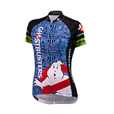 Ghostbusters Slimer Cycling Jersey (Womens)
