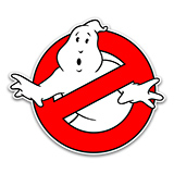 No-Ghost Logo Magnetic Car Decal