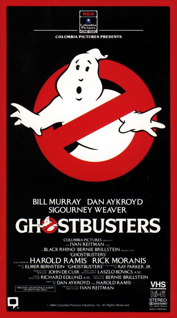 Ghostbusters Vhs 1985 Ghostbusters Ghostbusters Fans