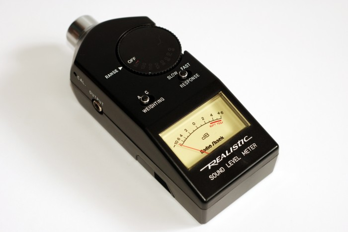 Sound Level Meter : Realistic sound level meter equipment ghostbusters