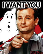 Sign up for Ghostbusters Fans
