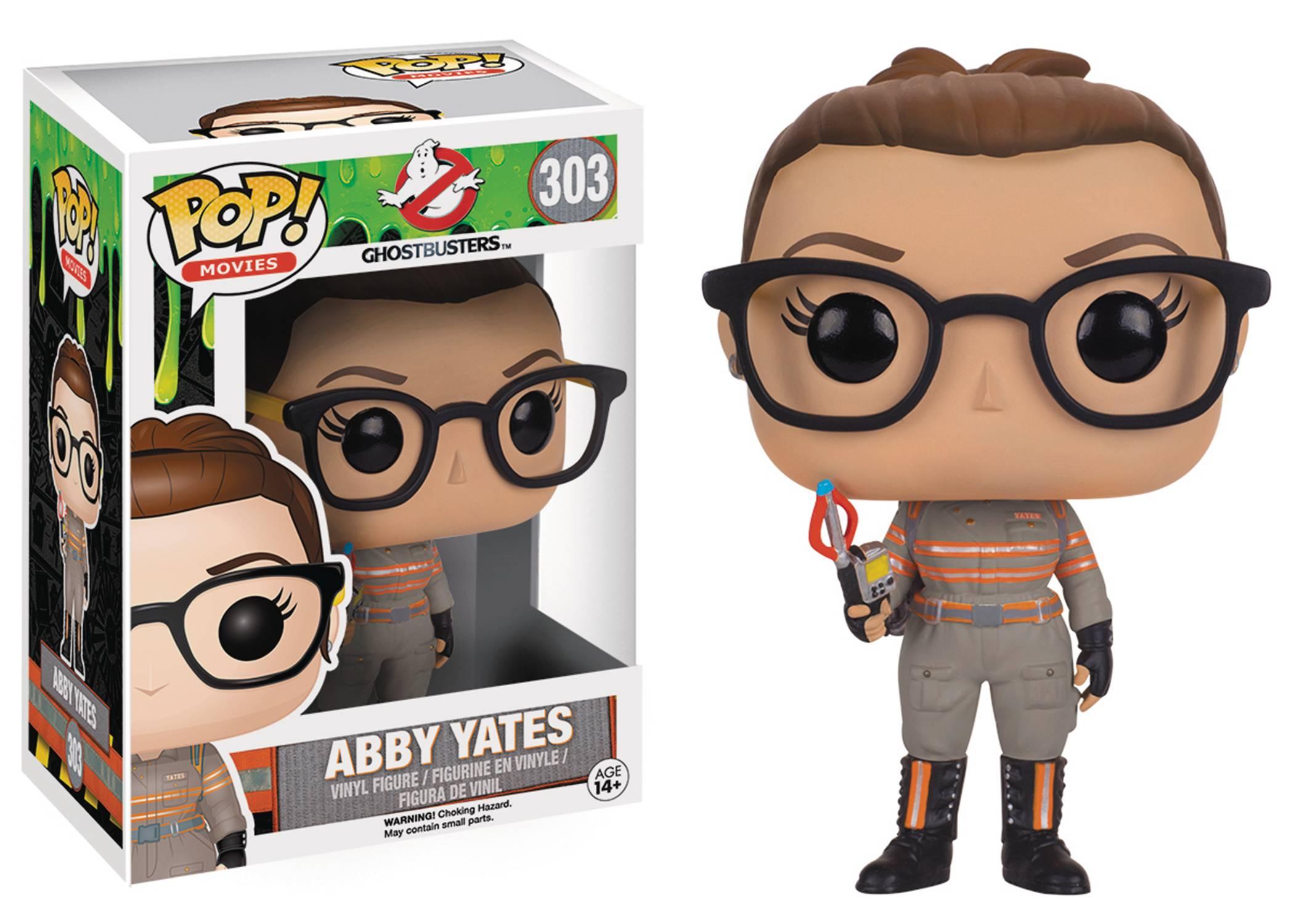 Ghostbusters 2016 Abby Yates Funko Pop Vinyl Shop