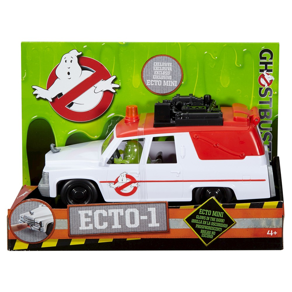 Ghostbusters 2016 Ecto 1 With Slimer Mini Figure Shop