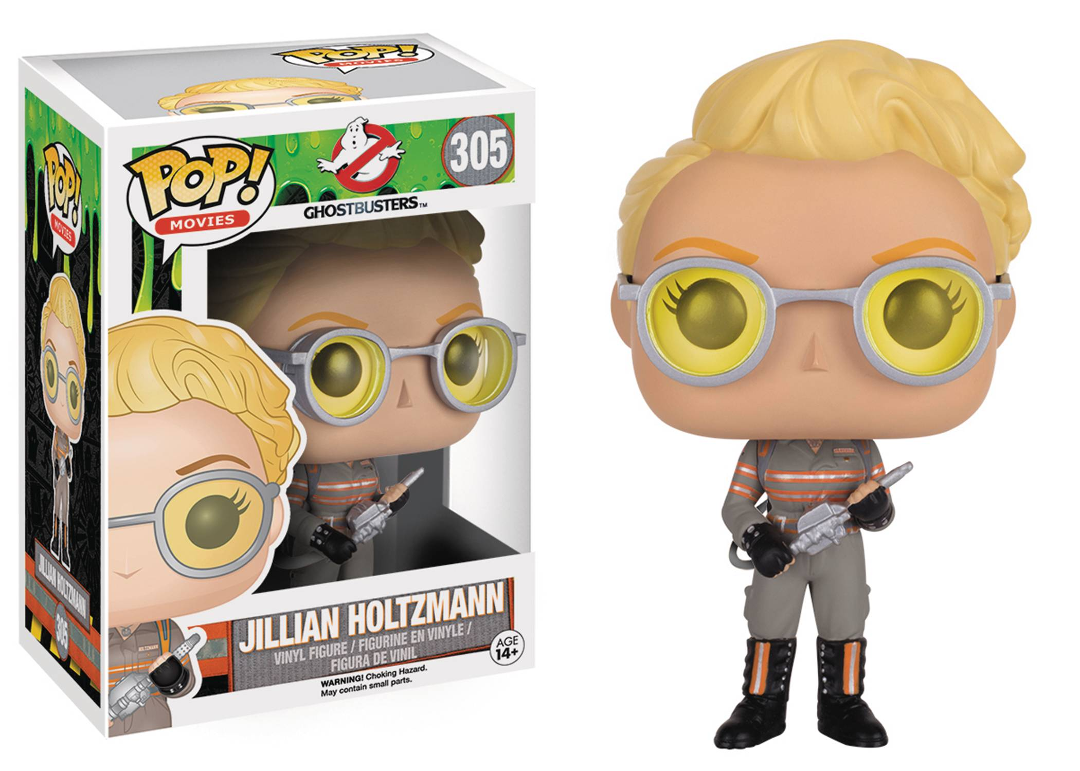 ghostbusters 2016 jillian holtzmann funko pop vinyl shop