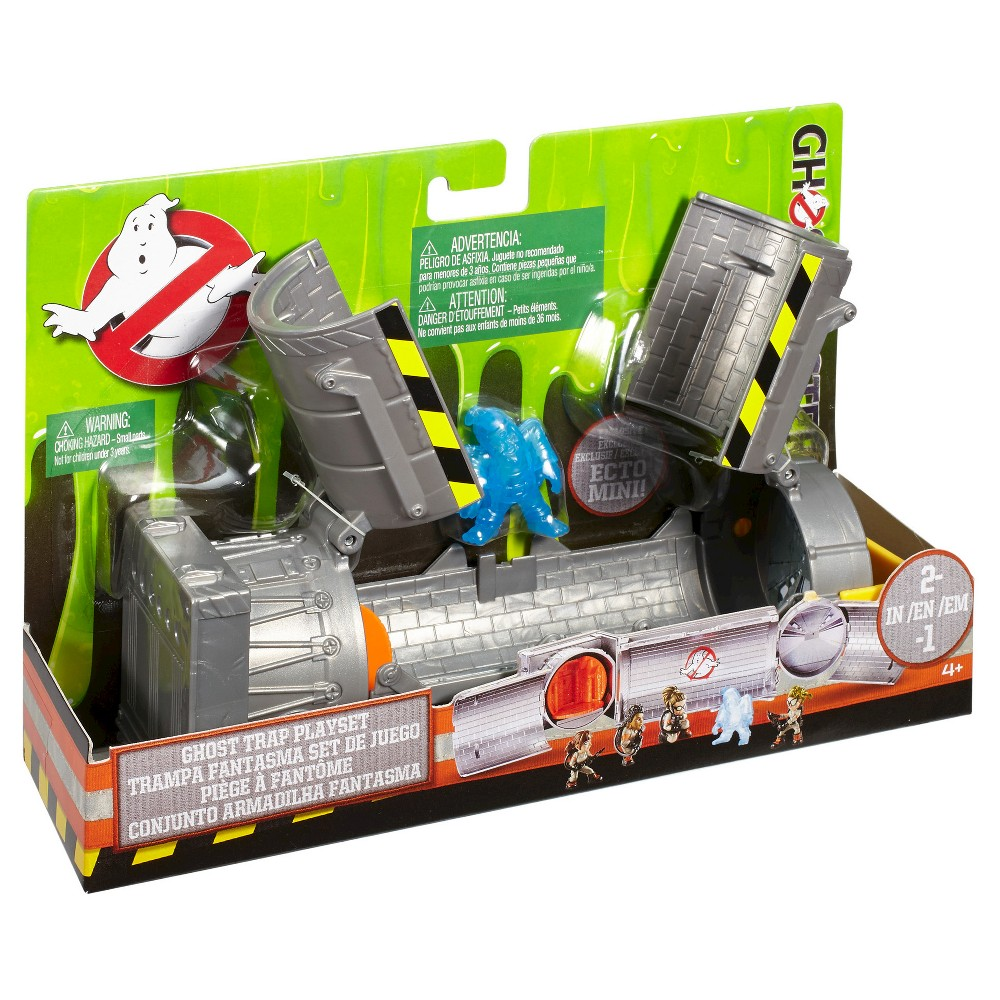 Best Ghostbuster Toys : Ghostbusters mini figure ghost trap playset shop