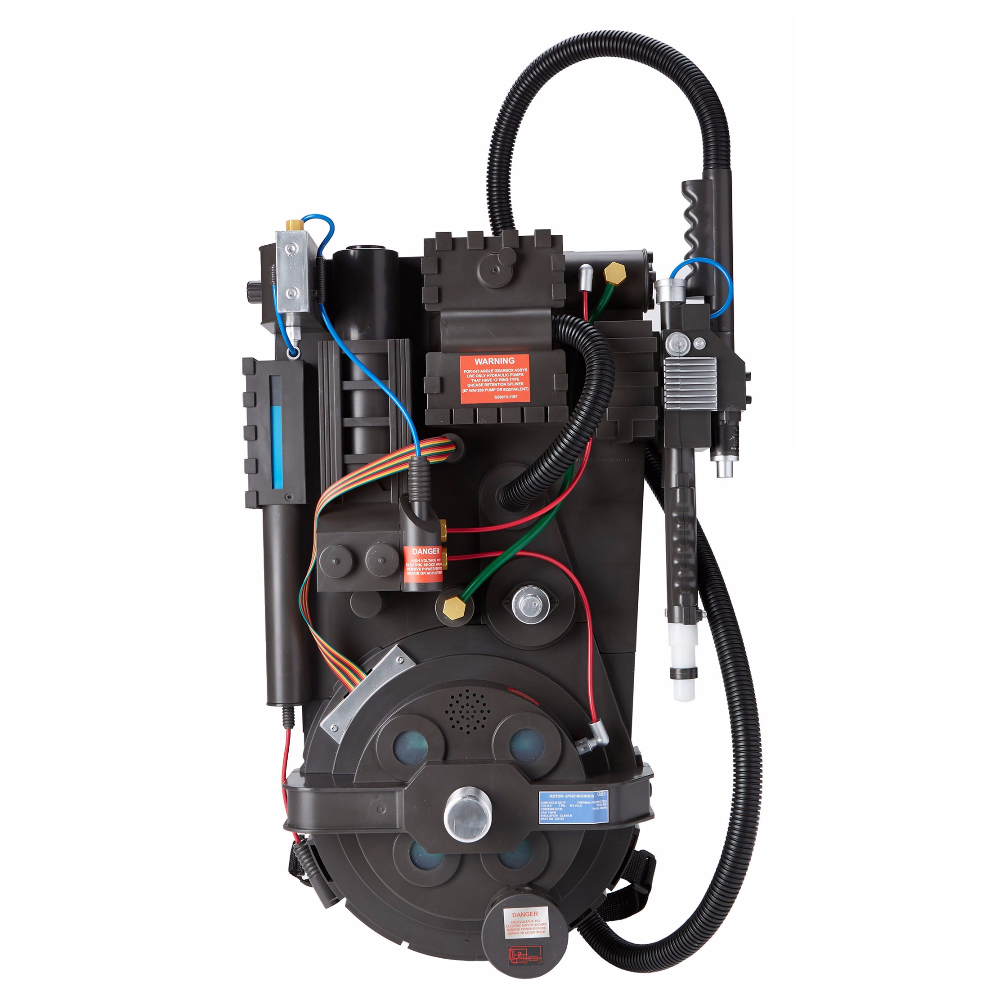 Ghostbusters Deluxe Proton Pack Replica Pack Parts