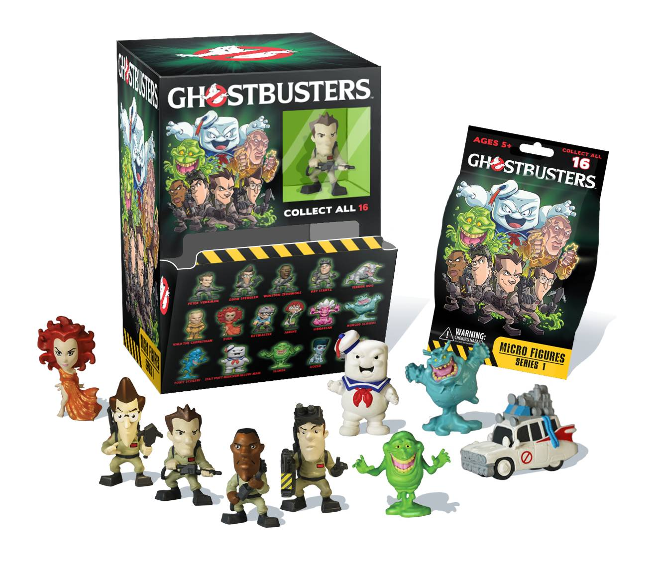 Ghostbusters Micro Figures Blind Bag Shop Ghostbusters
