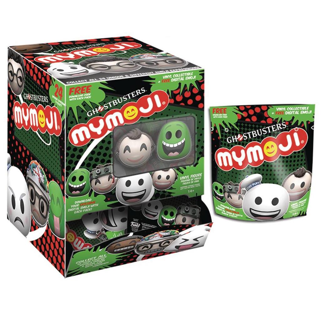 Ghostbusters Mymoji Series 1 Blind Bag Merchandise