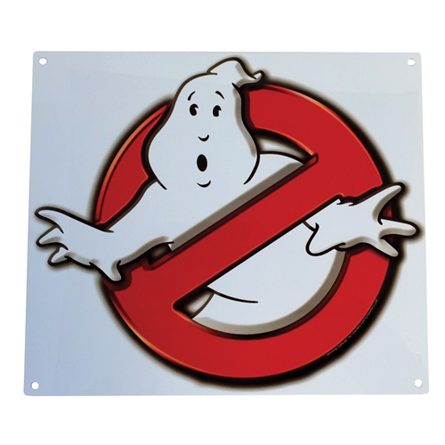 Ghostbusters No Ghost Logo Metal Sign Shop