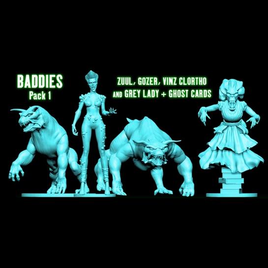 Ghostbusters The Board Game Baddies Pack 1 Shop