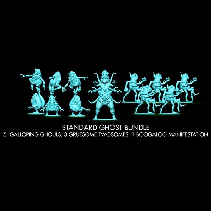 Ghostbusters: The Board Game - Standard Ghost Bundle