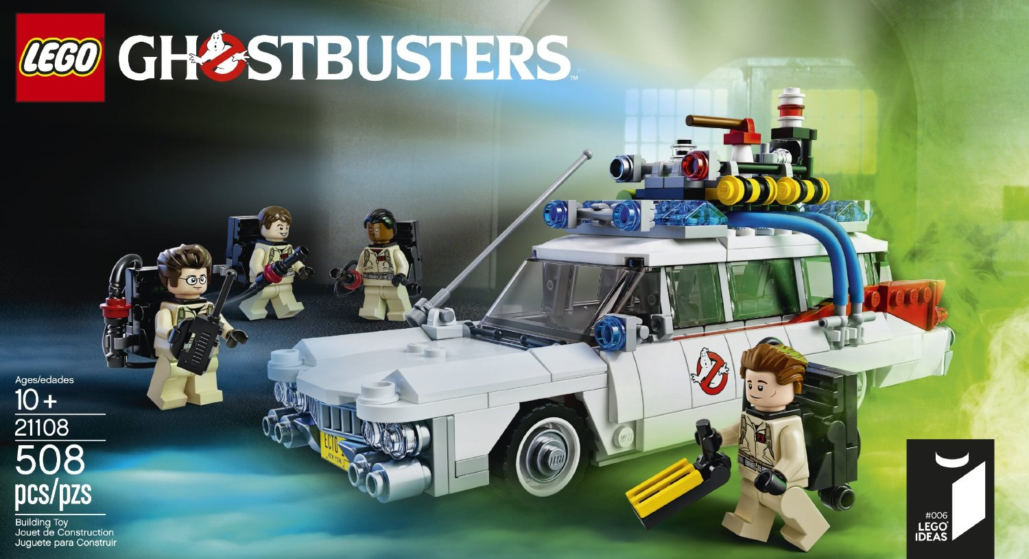 Lego Ghostbusters Ecto 1 21108 Shop Ghostbusters Fans