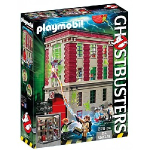 Ghostbusters Playmobil Firehouse Playset