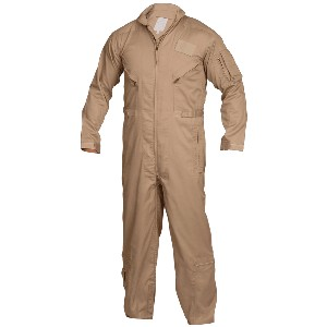 Uniform: Khaki Flight Suit Coveralls