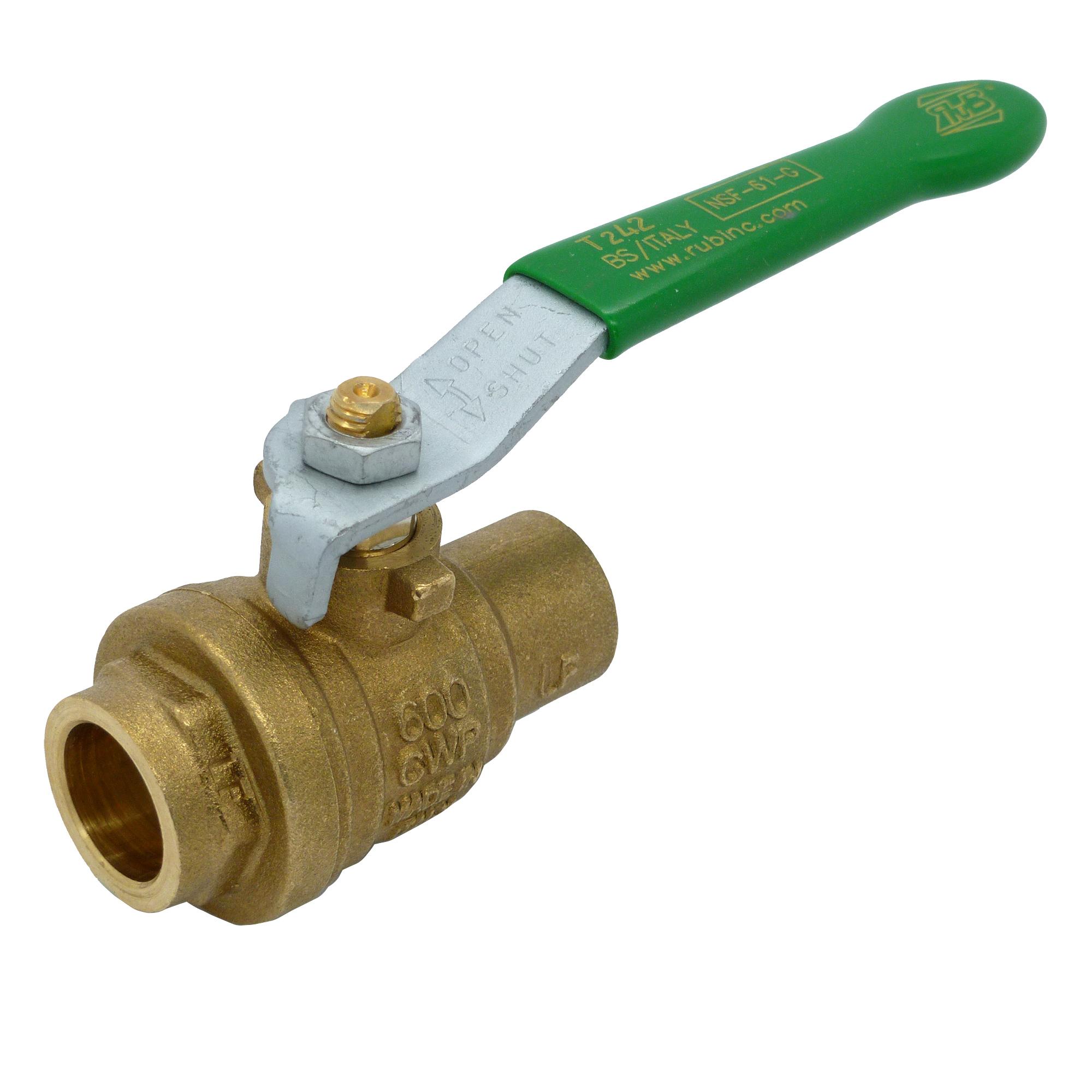 pack 1 2 rub brass ball valve   reboot pack parts   shop