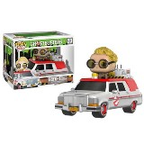 Ghostbusters (2016) Ecto-1 with Jillian Holtzmann Funko POP! Vinyl
