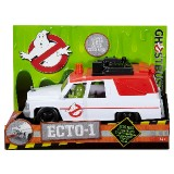 Ghostbusters (2016) Ecto-1 with Slimer Mini Figure