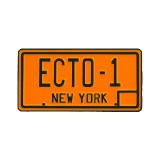 Ghostbusters Ecto-1 License Plate Lapel Pin