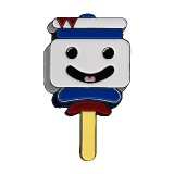 Ghostbusters Stay Puft Ice Cream Lapel Pin