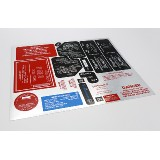 Pack: Metallic Vinyl Labels