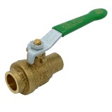 "Pack: 1/2"" RUB Brass Ball Valve"