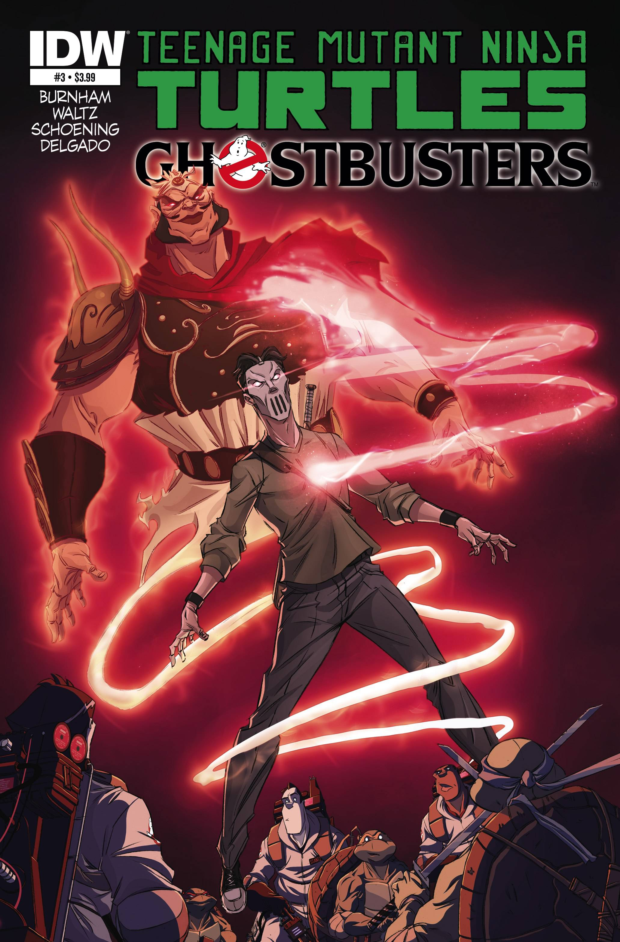 Questions That Make You Think >> TMNT Ghostbusters Issue #3 - Comic Books - Shop ...