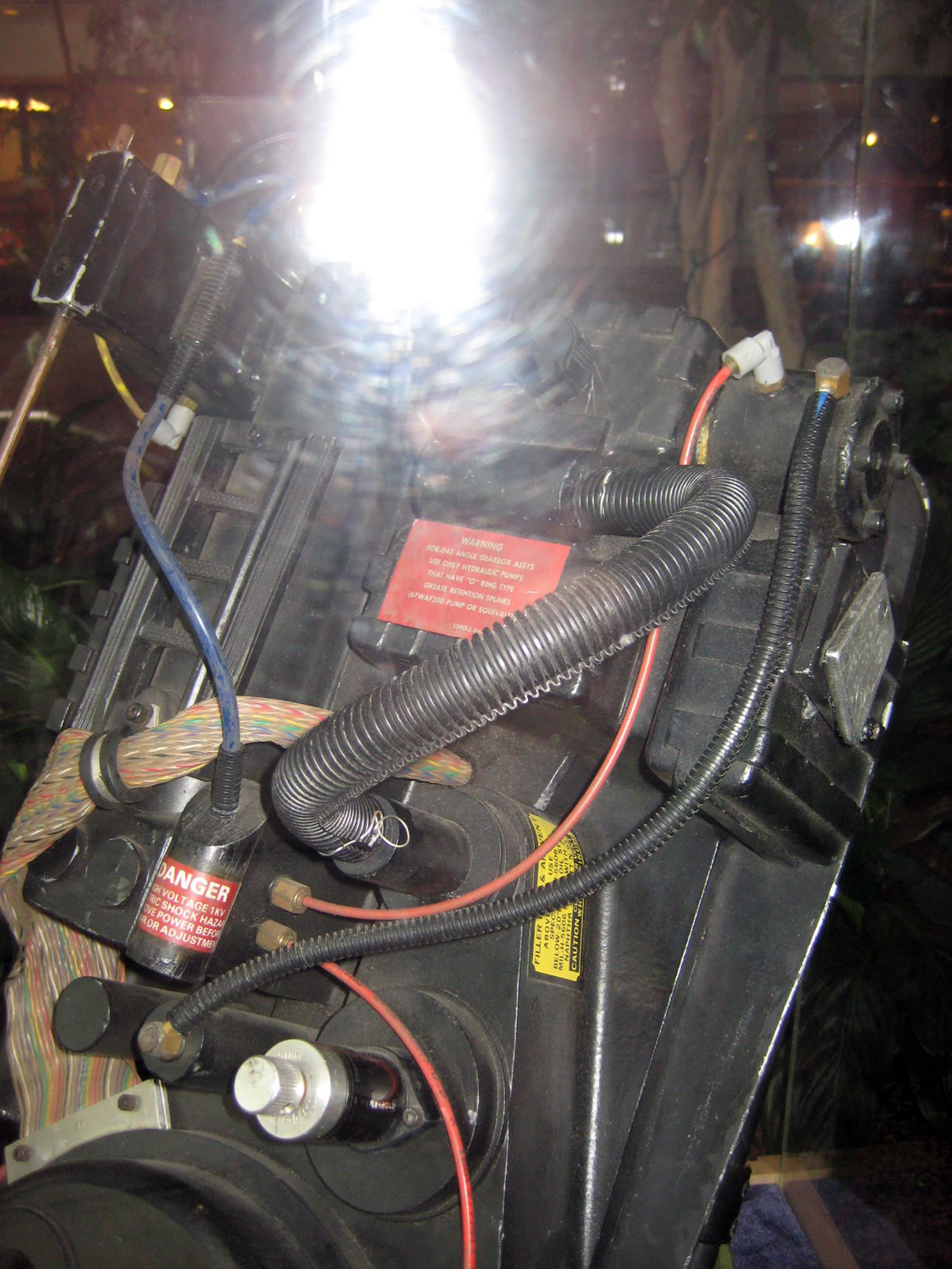 Sony Lobby Proton Pack Reference Equipment Ghostbusters Fans
