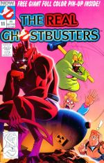 Real Ghostbusters NOW Comics Volume 1 Issue 11 Cover.jpg